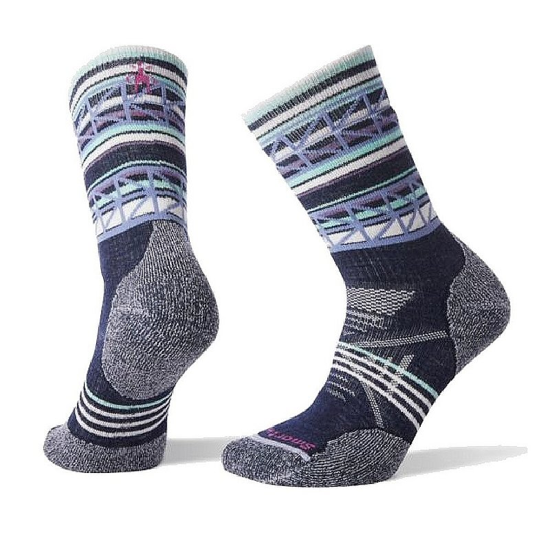Women's PhD Outdoor Medium Pattern Crew Socks