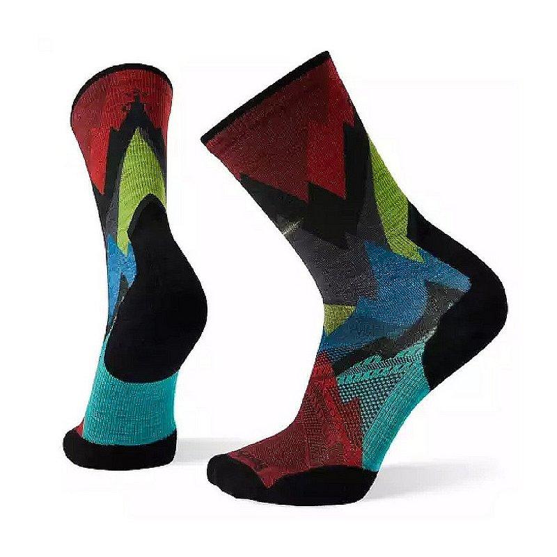 Smartwool Women's PhD Pro Endurance Print Crew Socks SW001163 (Smartwool)