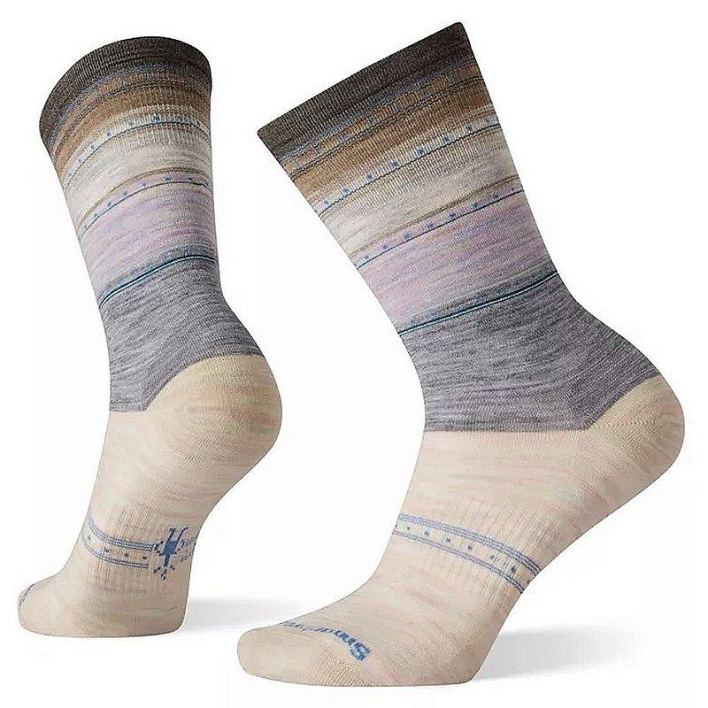 Smartwool Women's Sulawesi Stripe Crew Socks SW003900 (Smartwool)