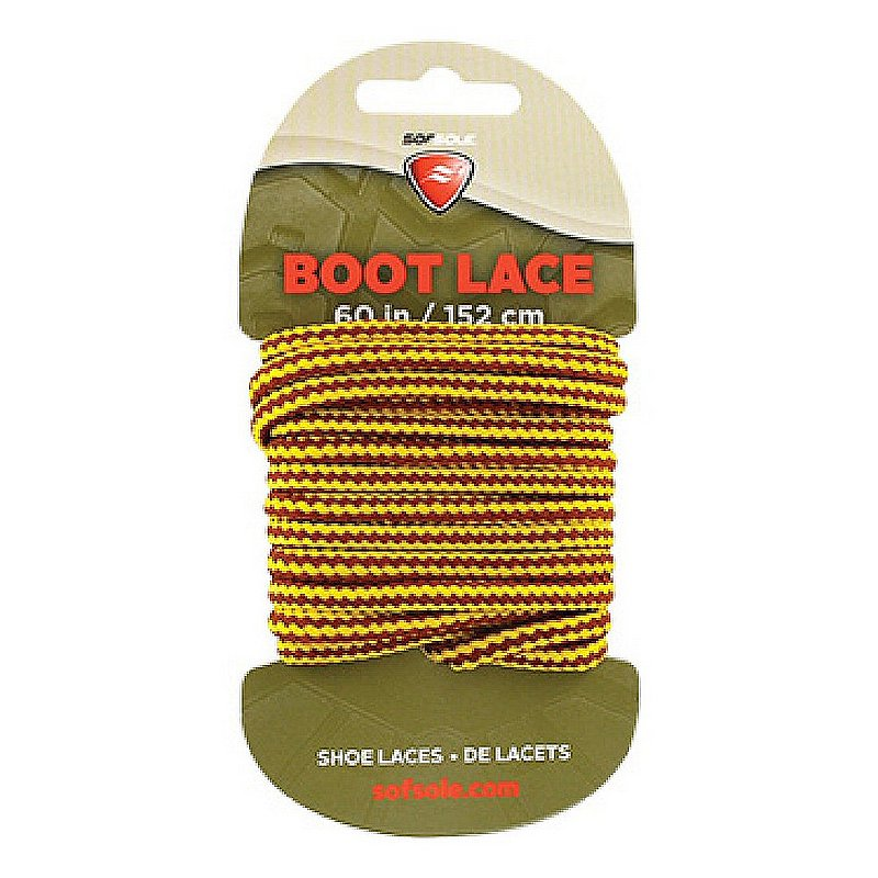 """Sof Sole Waxed Boot Laces--60"""" 423430 (Sof Sole)"""