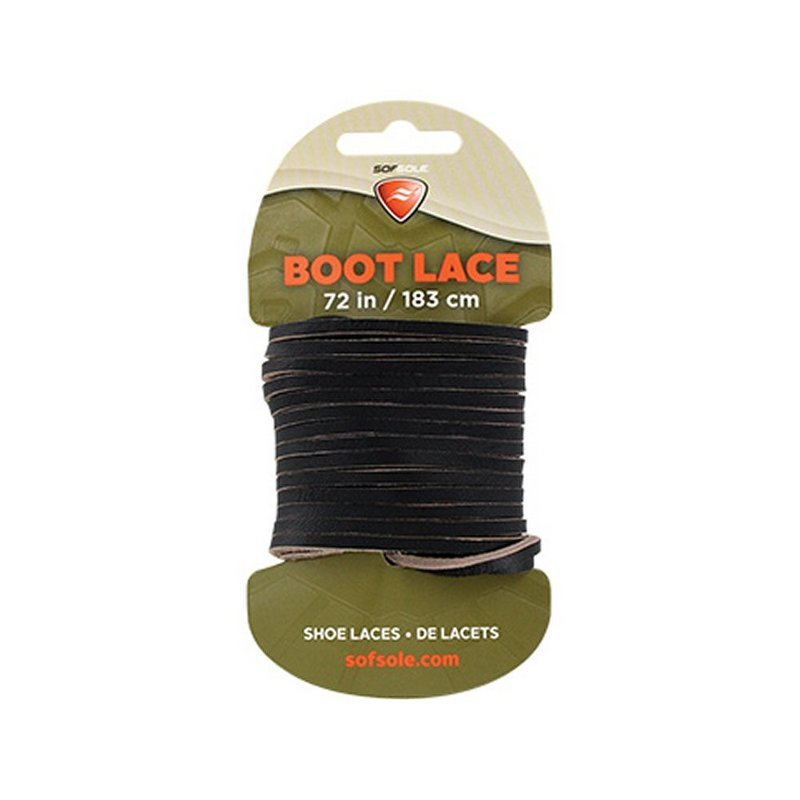 "Sof Sole Waxed Leather Boot Laces--72"" 423443 (Sof Sole)"