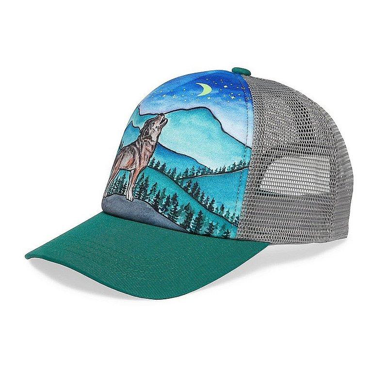 Kids' Lone Wolf Trucker Hat