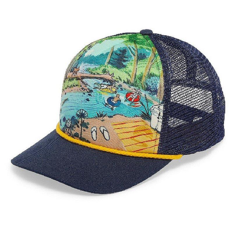 Steam Dream Cooling Trucker Hat