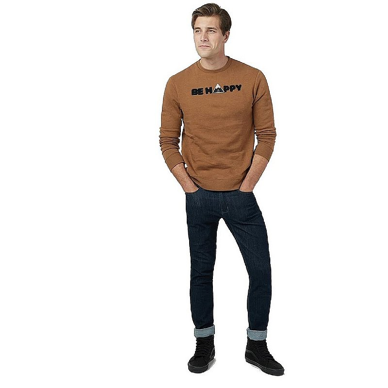 Tentree Men's Happy LS Crew Sweatshirt TCM1960 (Tentree)