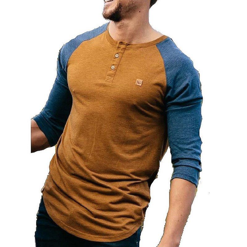 Tentree Men's Standard 3.25 Henley Shirt TCM1458 (Tentree)