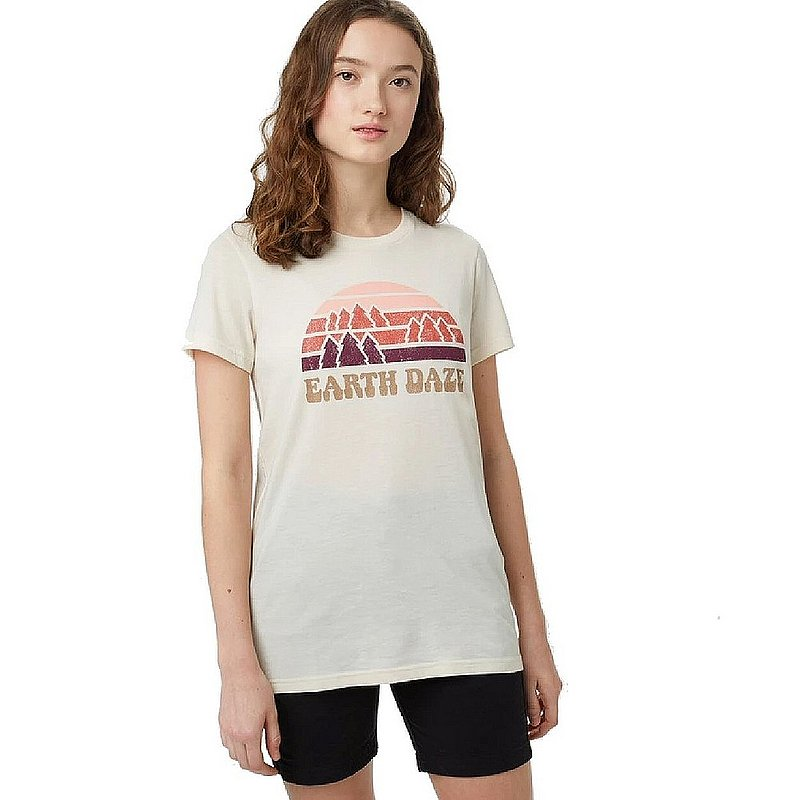 Tentree Women's Earth Daze Classic T-Shirt TCW2615 (Tentree)