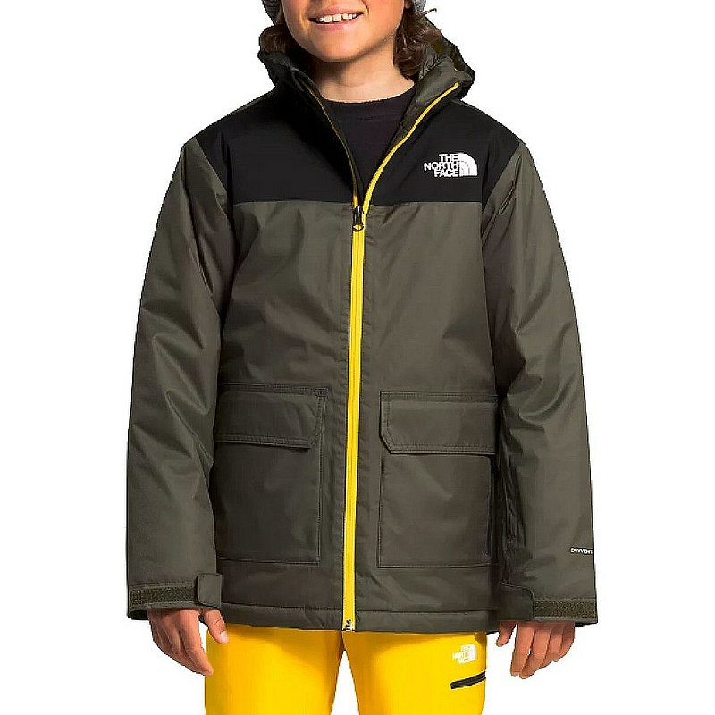 The North Face Boys' Freedom Insulated Jacket NF0A3NI6 (The North Face)