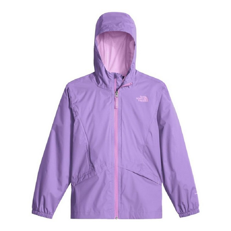 The North Face Girls' Zipline Rain Jacket NF0A2U3F (The North Face)