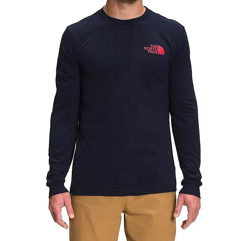 The North Face Men's Long Sleeve Parks Tee Shirt NF0A7QNP (The North Face)