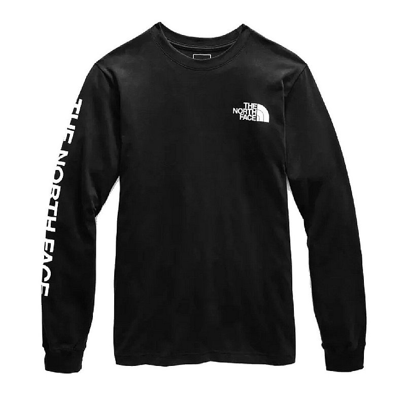 The North Face Men's Long Sleeve TNF Sleeve Hit Tee Shirt NF0A471K (The North Face)