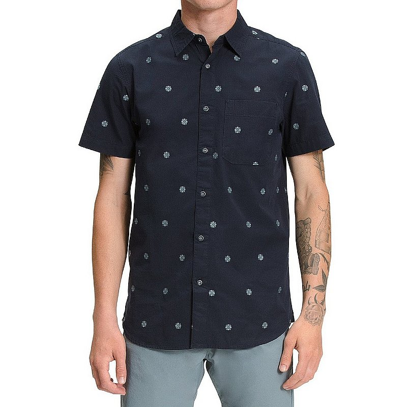 The North Face Men's Short Sleeve Baytrail Jacquard Shirt NF0A55MP (The North Face)