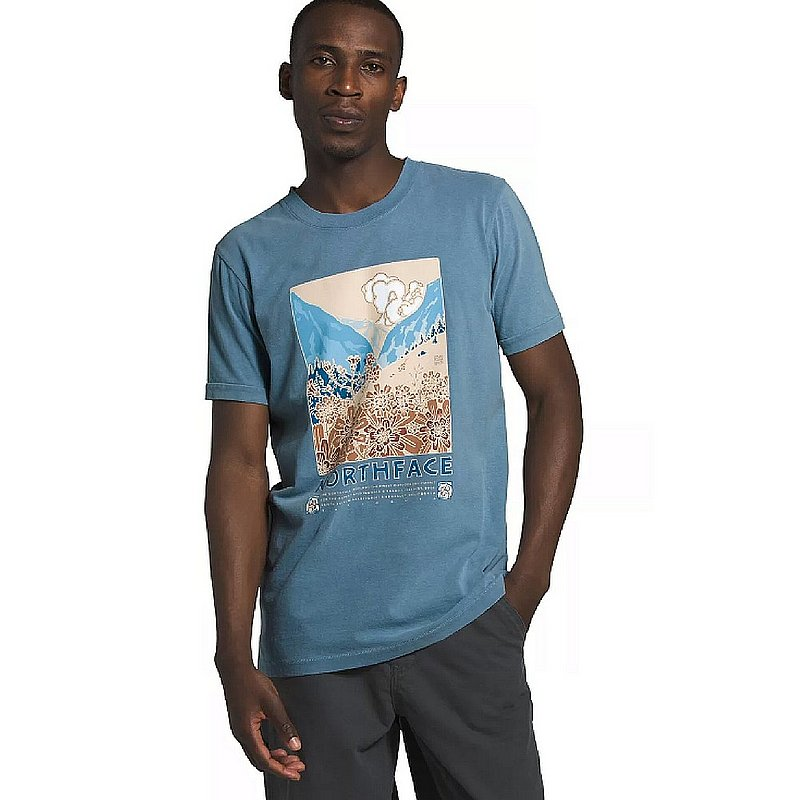 The North Face Men's Short Sleeve Berkeley Tee Shirt NF0A4A9Q (The North Face)