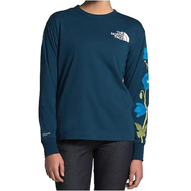 The North Face Women's Long Sleeve Himalayan Bottle Source Tee Shirt NF0A473T (The North Face)