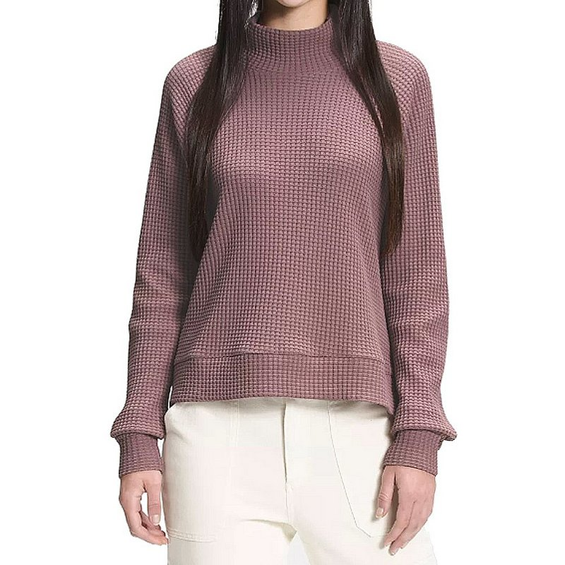Women   s Long Sleeve Mock Neck Chabot Sweater
