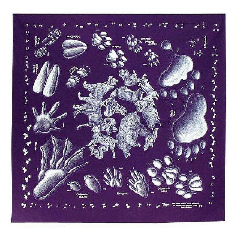 The Printed Image Animal Tracks Bandana 104106 (The Printed Image)
