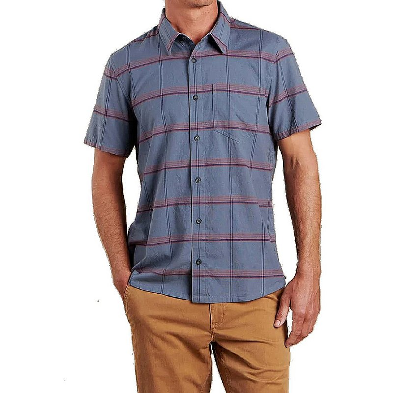 Toad & Co Men's Airscape Short Sleeve Shirt T2002014 (Toad & Co)
