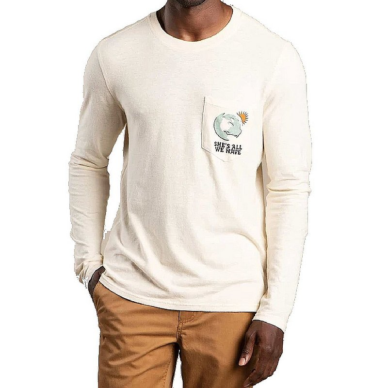 Toad & Co Men's Hemp Daily Long Sleeve Tee Shirt T2011101 (Toad & Co)