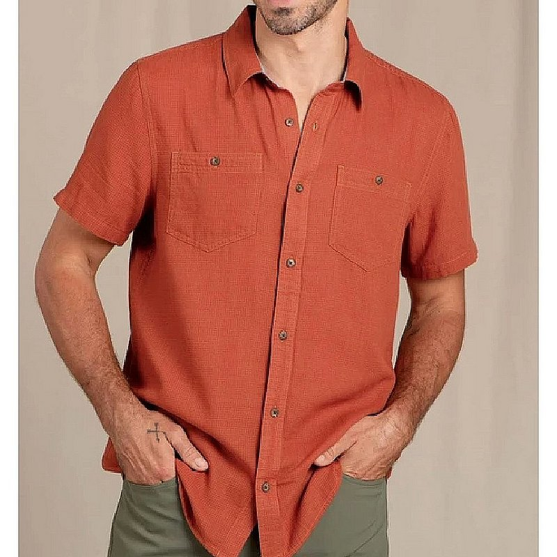 Toad & Co Men's Honcho Short Sleeve Shirt T2002013 (Toad & Co)