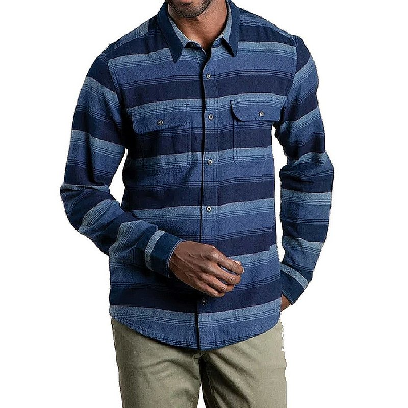 Toad & Co Men's Indigo Flannel Shirt T2241108 (Toad & Co)