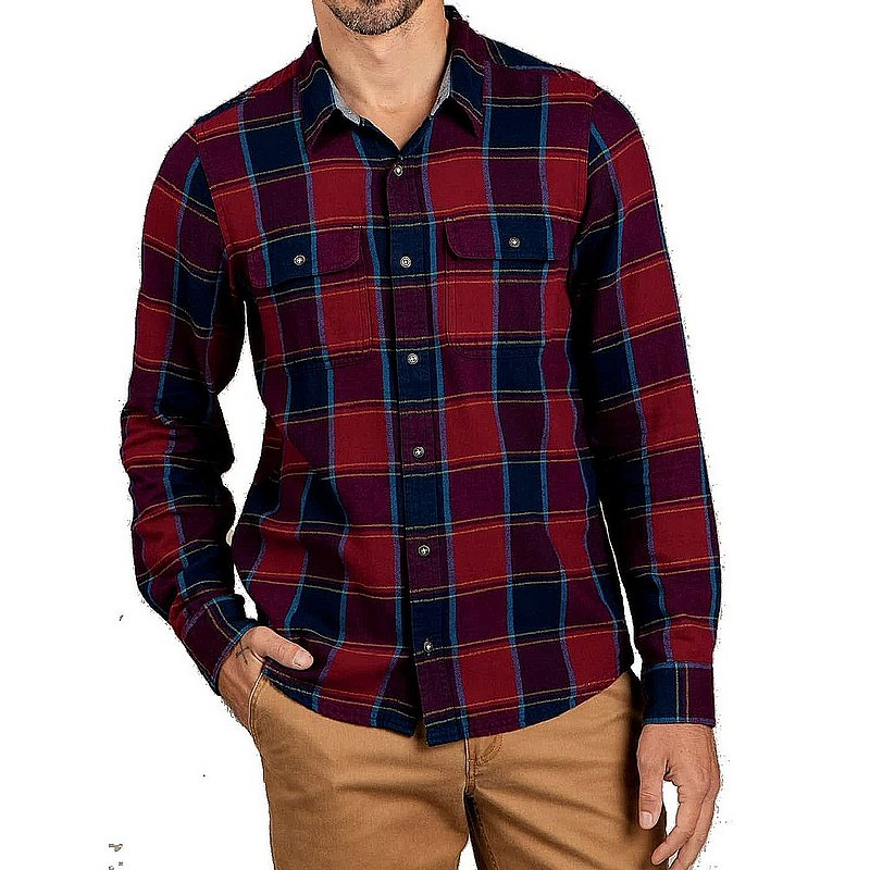 Toad & Co Men's Indigo Flannel Shirt T2251702 (Toad & Co)
