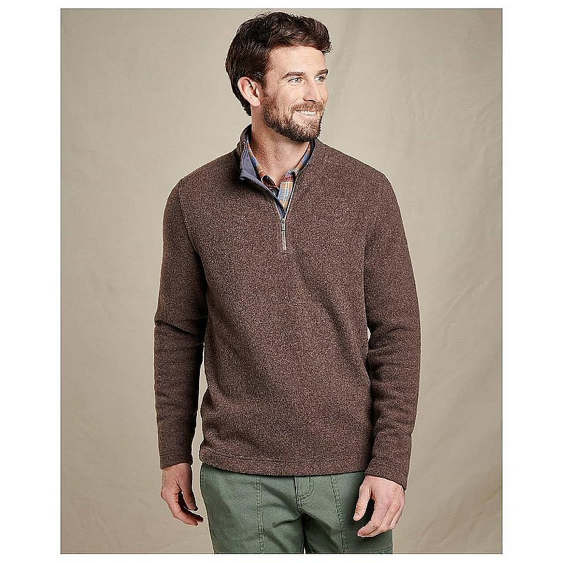 Toad & Co Men's Kennicott Quarter Zip Sweater T2621712 (Toad & Co)