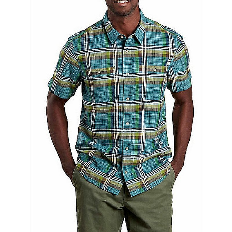 Toad & Co Men's Smythy Short Sleeve Shirt T2012137 (Toad & Co)