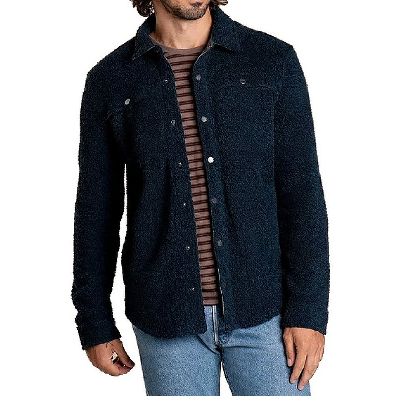 Toad & Co Men's Telluride Sherpa Shirt Jacket T2081900 (Toad & Co)