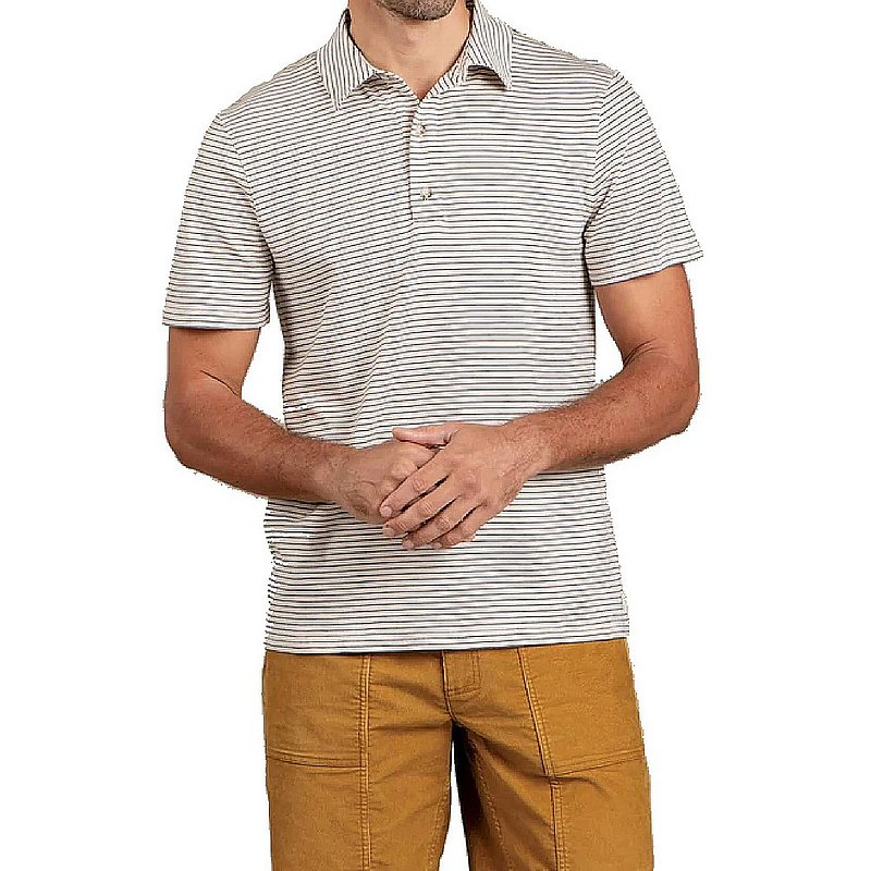 Toad & Co Men's Tempo Short Sleeve Polo Shirt T2002912 (Toad & Co)