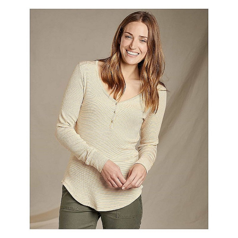Toad & Co Women's Daisy Rib Henley Shirt T1241922 (Toad & Co)