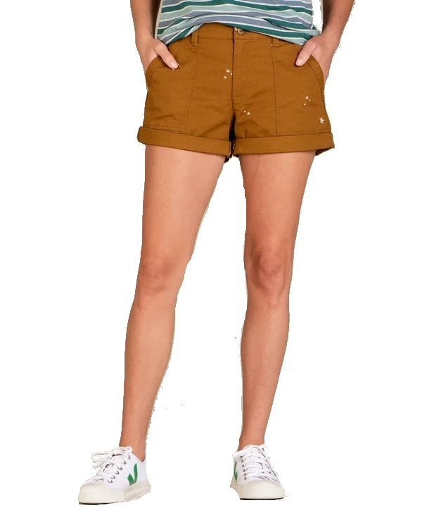 Toad & Co Women's Earthworks Camp Shorts T1312010 (Toad & Co)