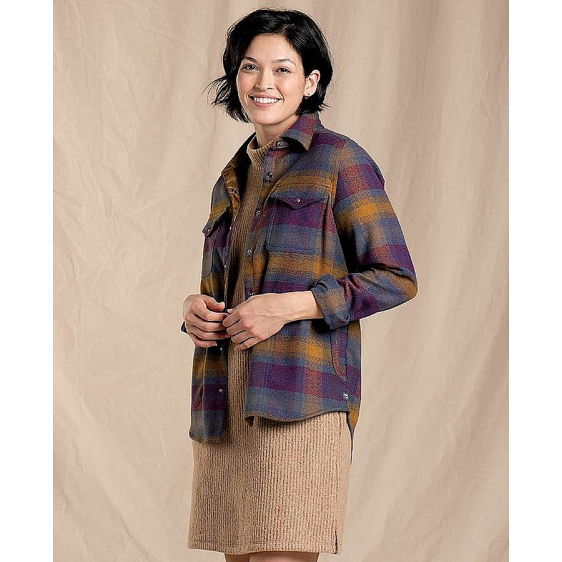 Toad & Co Women's Folk Yeah Shirt Jacket T1241013 (Toad & Co)