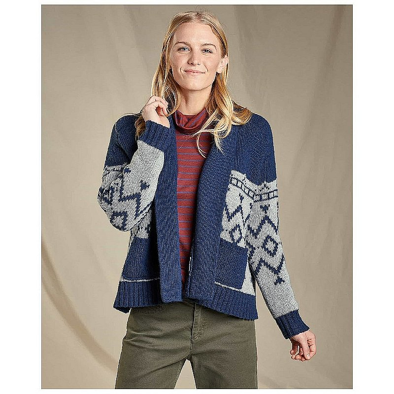 Toad & Co Women's Nitsa Shawl Cardi Sweater T1231907 (Toad & Co)
