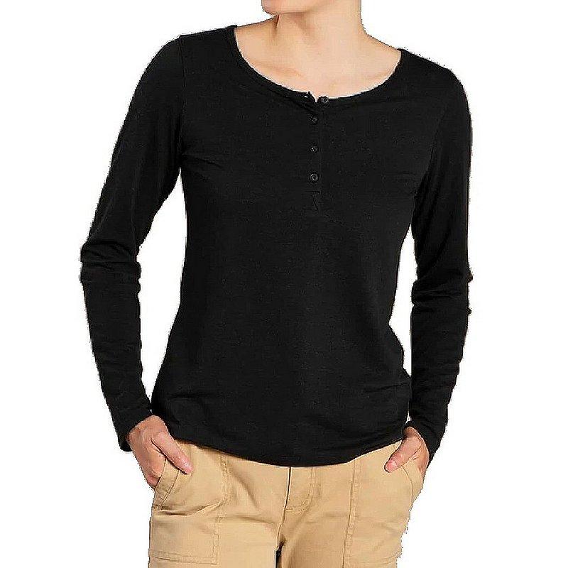 Toad & Co Women's Piru Long Sleeve Henley Shirt T1241108 (Toad & Co)
