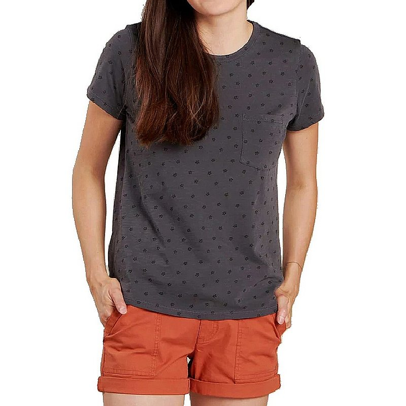 Toad & Co Women's Primo Short Sleeve Crew Shirt T1001900 (Toad & Co)