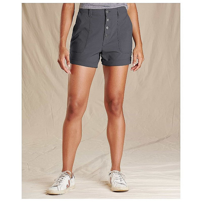 Toad & Co Women's Rover High Rise Shorts T1312001 (Toad & Co)