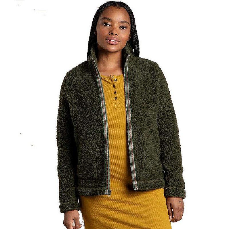 Toad & Co Women's Sespe Sherpa Zip Jacket T1081106 (Toad & Co)