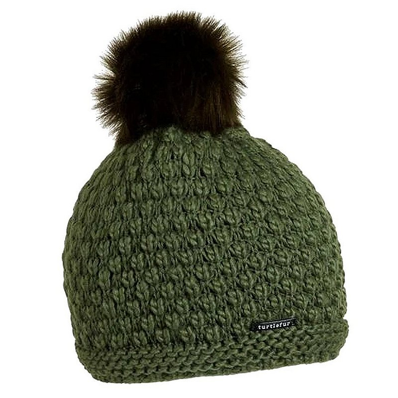 Turtle Fur Snowfall Pom Beanie 716355 (Turtle Fur)