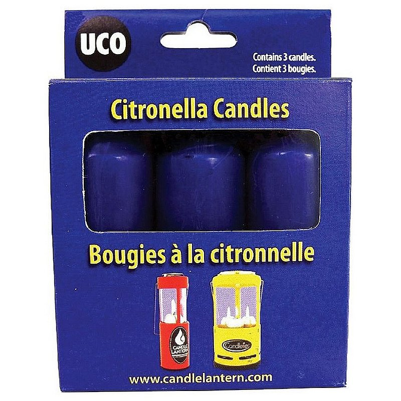 Uco Citronella Candles--3 pack 350407 (Uco)
