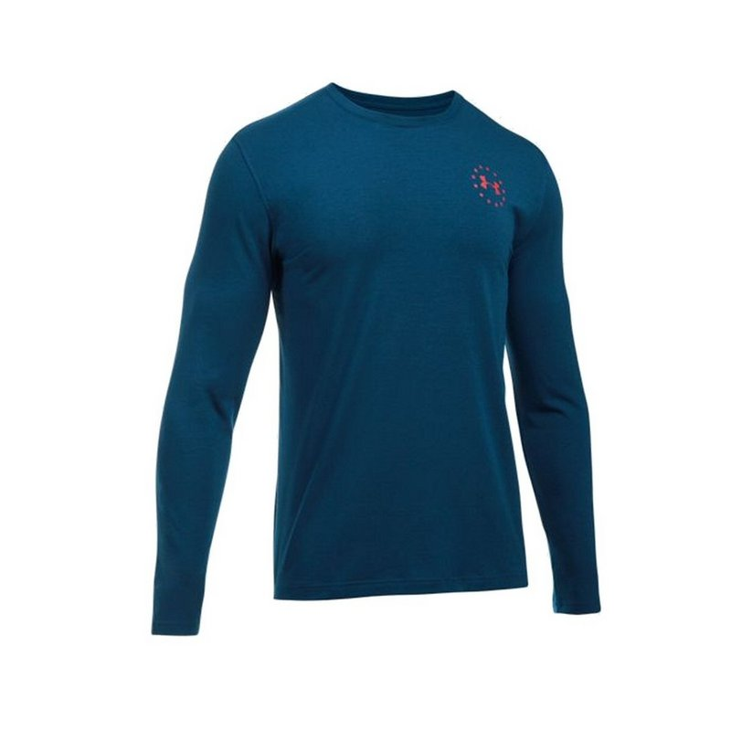 1f73ccd6 Under Armour Men's UA Freedom Flag Long Sleeve T-Shirt 1299259