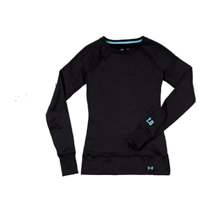 Women's UA Base 2.0 Crew Neck Long Sleeve Top/Shirt
