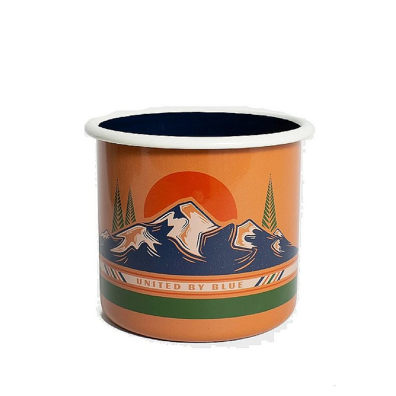 United By Blue To The Mountains 22 oz. Enamel Mug 707-182 (United By Blue)
