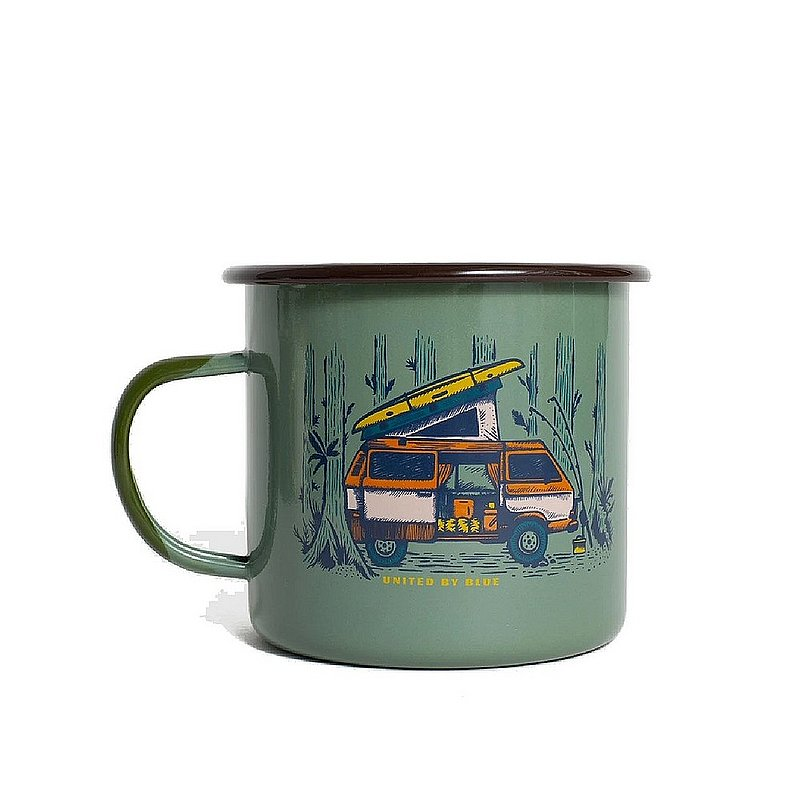 United By Blue Weekend Hideout 22 oz. Enamel Steel Mug 707-162 (United By Blue)