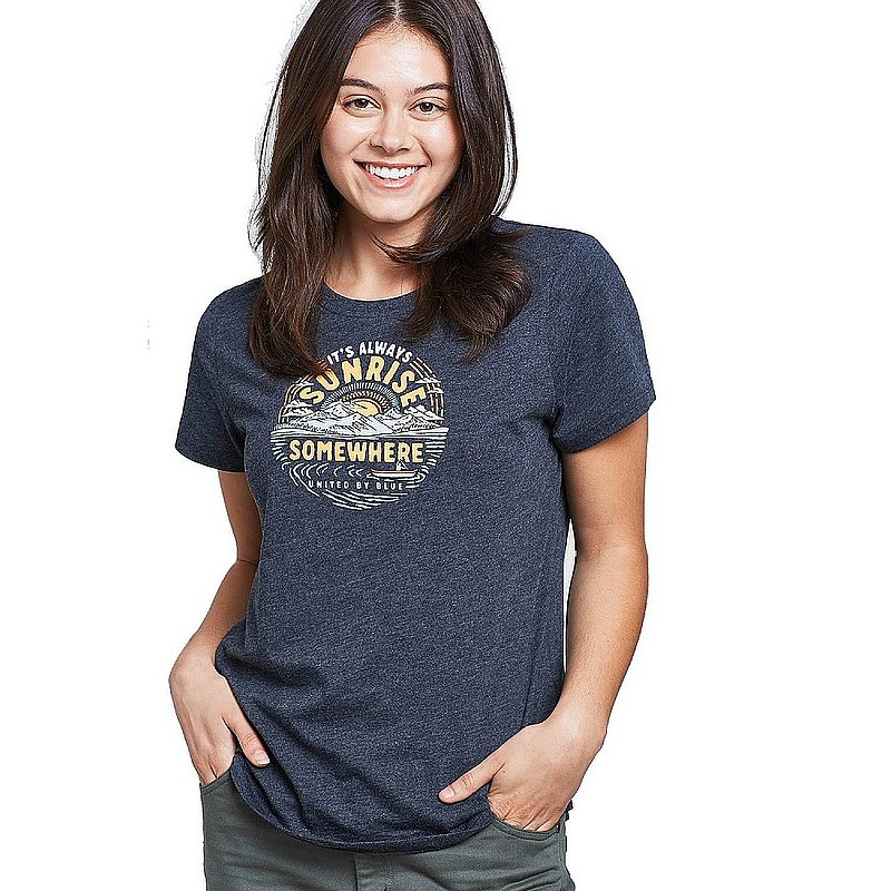 United By Blue Women's Sunrise Somewhere Tee Shirt 201-072 (United By Blue)