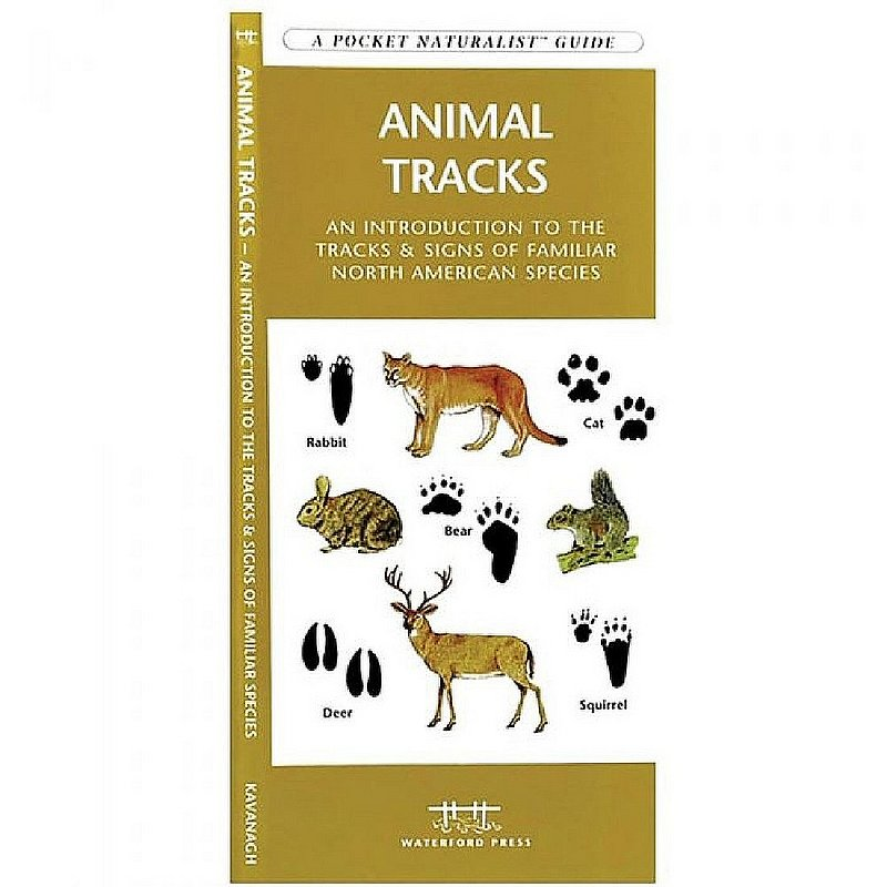 Waterford Press Animal Tracks Pocket Guide Book 100600 (Waterford Press)