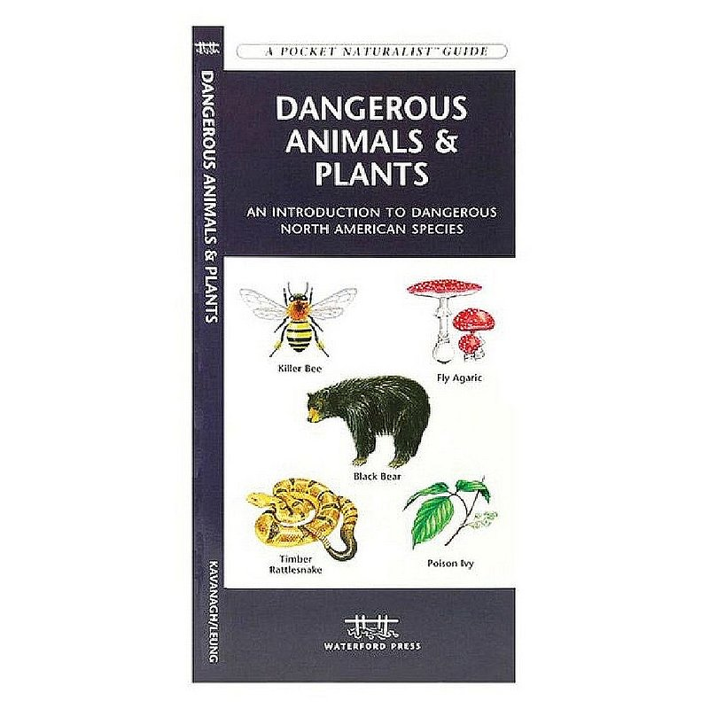Waterford Press Dangerous Animals & Plants Pocket Guide Book 102231 (Waterford Press)