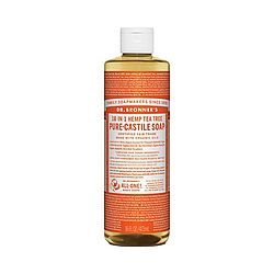 Dr Bronners Tea Tree Liquid Castile Soap -16oz
