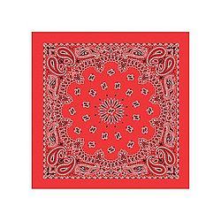 Red Cotton Bandana