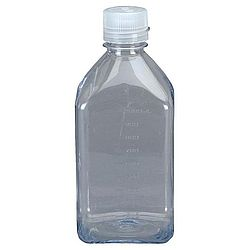 8oz Narrow Mouth Square Bottle