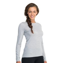 Womens Oasis Long Sleeve Crewe Top