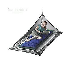 Pyramid Mosquito Net Shelter - Single